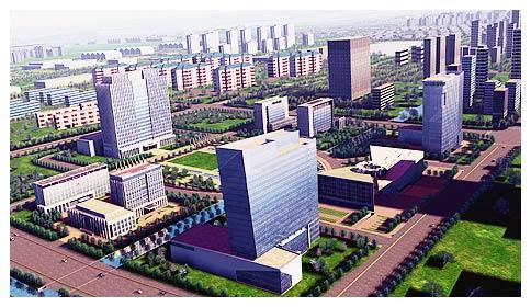 浙江杭州湾出售标准厂房 独栋两、三层产权50年 可按揭